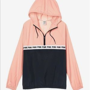 PINK Victoria's Secret Jackets & Coats - pink windbreaker